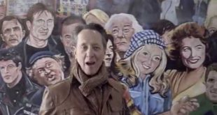 Take a video tour of Belfast with Richard E Grant