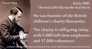 Thomas John Barnardo - Irish founder of Barnardo's charity