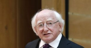 President Higgins compares refugees' suffering to that of Famine victims