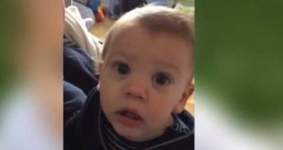 Dad gives his baby Irish alter-ego in hilarious video