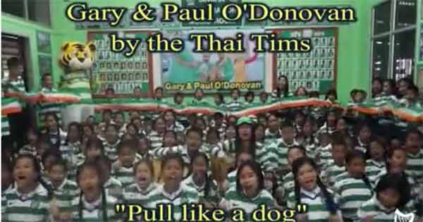 Thai Tims tribute to Ireland's Olympic heroes
