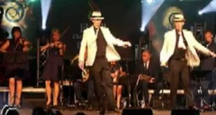 Gardiner brothers Irish dance to Smooth Criminal