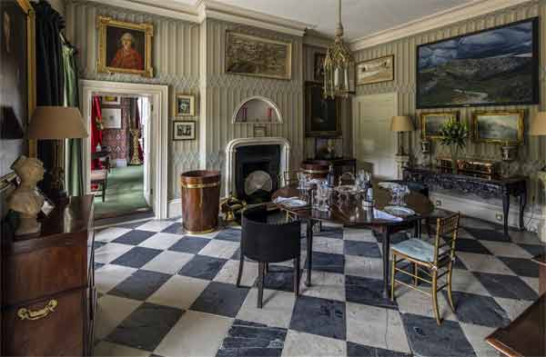 Luggala dining room