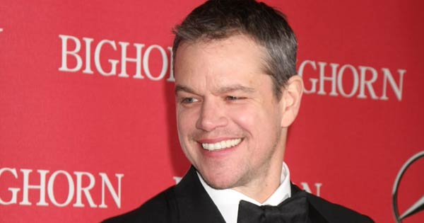 Matt Damon says he would love to live in Ireland