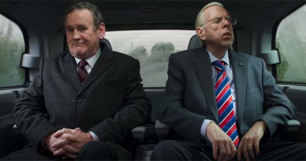 Martin McGuinness and Iain Paisley as seen in the movie The Journey
