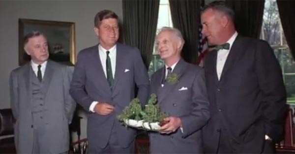 Brief history of Irish and US leaders celebrating St Patrick's Day together