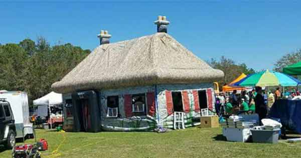 The Irish Thatch Cottage – Pop Up a piece of home in your backyard for St. Patrick's Day!