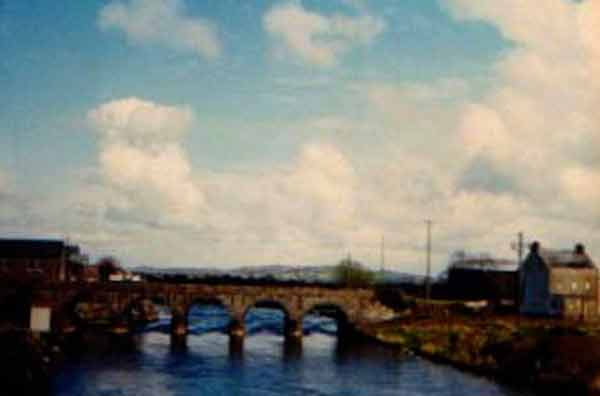 The Bridge over the Moy River, at Foxford, Mayo