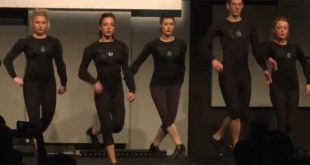 Girl Power Irish dancing style with the stunning Slide Step