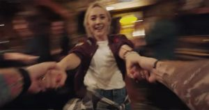 Saoirse Ronan stars in Ed Sheeran's Galway Girl video