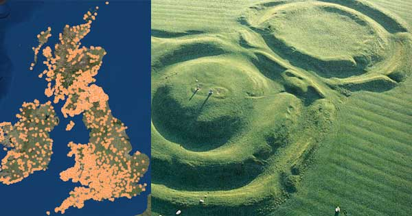 Database of thousands of ancient hill forts available online. Picture copyright Heritage Ireland