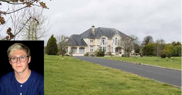 Check out Niall Horan's Irish mansion