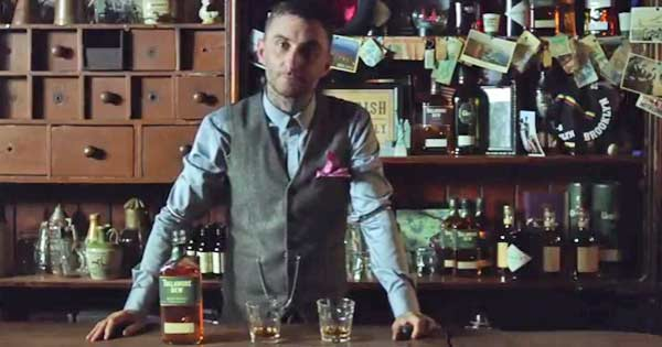 'Beauty of the Blend' whiskey campaign celebrates Irish in America