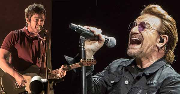 Noel Gallagher has revealed he couldn't keep up with Bono's boozing