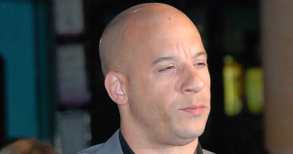 Study reveals bald headed men are more attractive and dominant. Photo of Vin Diesel copyright Andre Luis CC3