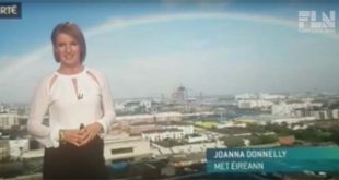 Irish weather presenter Joanna Donnelly hits back at a troll who criticised her appearance and ambition