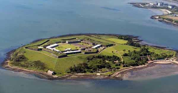 Spike Island has been named as Europe's top tourist attraction
