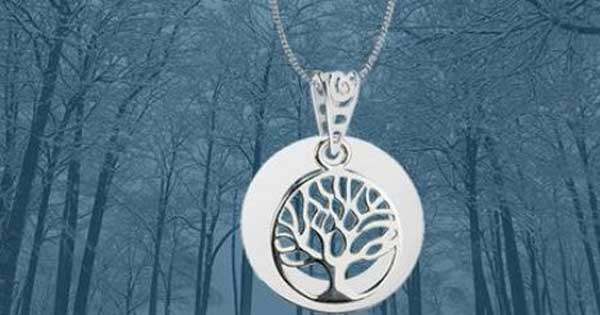 Sterling Silver Celtic Tree Necklace
