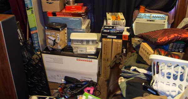 Is there a link between bereavement and hoarding? Photo copyright TheDoctorMo CC3