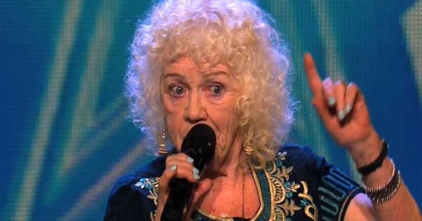Irish granny Evelyn Williams sings Send in the Clowns on Ireland's Got Talent