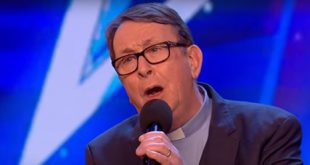 Fr Ray Kelly wows Simon Cowell on Britain's Got Talent