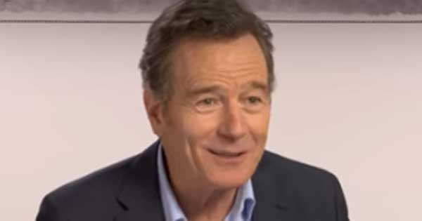 Bryan Cranston speaks about an emotional experience in an Irish pub