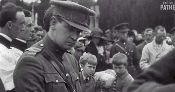 Priceless footage of Irish Rebellion heroes available online for the first time