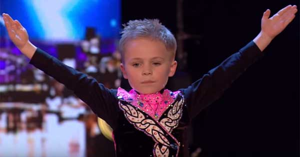 Six-year-old Irish dancer wows Simon Cowell