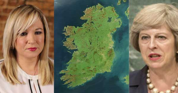 Sinn Féin Deputy Leader Michelle O'Neill calls for referendum on united Ireland
