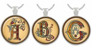 Illuminated Letter pendant competition