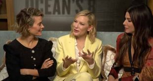 Ocean's 8 cast try to do an Irish accent