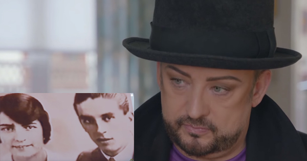 Boy George on the BBC's Who Do You Think You Are?