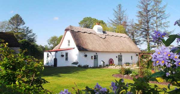Beautiful Irish thatched cottage could be your dream home