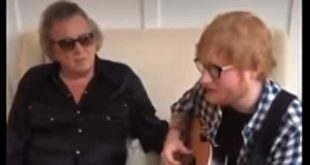 Ed Sheeran sings to Don McLean