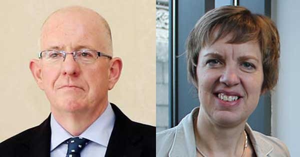 Charlie Flanagan and Ivana Bacik