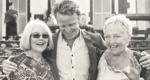 Nik Quaife with his two mothers