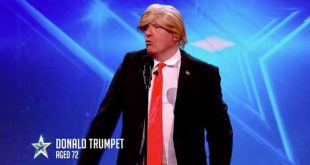 Donald Trumpet on Ireland's Got Talent