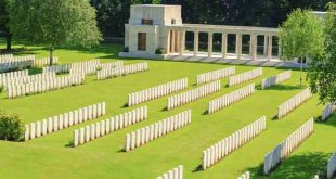 Buttes New British Cemetery First World War