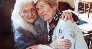 Irish woman meets 103-year-old mother after 60 year search. Photo from RTE