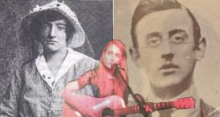 Irish musician writes moving song about Rising heroes Joseph Plunkett and Grace Gifford