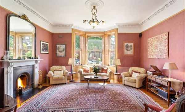 Jim Sheridan house front room