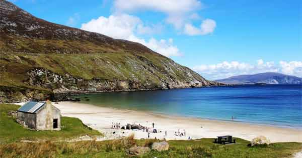 Beautiful Irish beach is named one of the best in the Europe