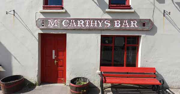 McCarthys bar bench