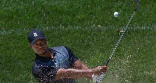 Tiger Woods won't be sampling the Guinness on this trip to Ireland. Photo copyright Keith Allison CC2
