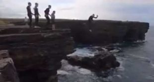 "Parents urged to ""know what their kids are up to"" after terrifying cliff jump"