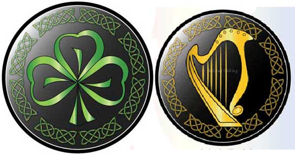 How Ireland protects its harp and shamrock emblems…take care if using them