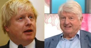 Boris and Stanley Johnson