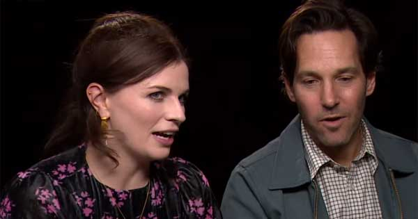 Aisling Bea reveals awkward moment during raunchy scene with Paul Rudd