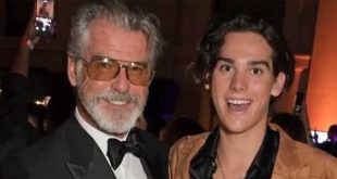 Paris Brosnan inspired by parents to save the environment