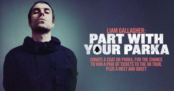 Liam Gallagher - part with your parka